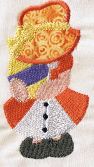 Easter Sunbonnets Exclusive Applique Set