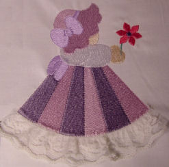 Flower Sunbonnet Set
