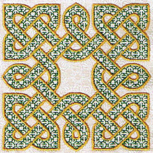 Celtic Knotwork Filled Series 01