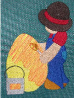 Easter Sunbonnet Sam Exclusive- Filled