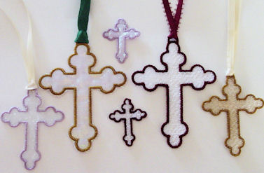 FSL & Organza Crosses