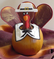 4x4 PILGRIM PUMPKIN TURKEY