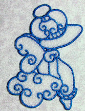 FSL Curly Sunbonnet Angels