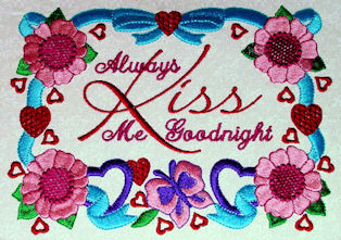 Always Kiss Me Goodnight Sampler Set