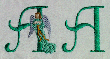 Angel Monogram