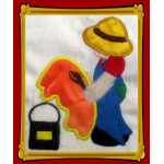 Easter Sunbonnet Sam Exclusive- Applique