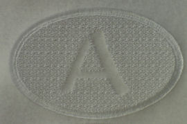 Embossed Monogram Alpha