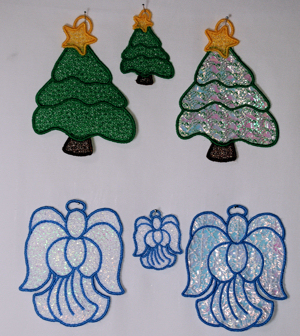 FSL & Mylar Ornaments