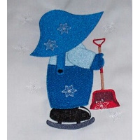 Exclusive January Sunbonnet Sue & Sam