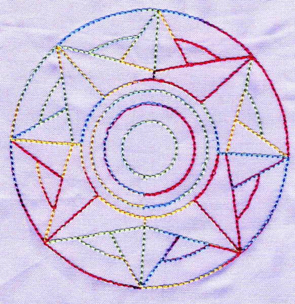 Mandala Quilt Blocks 01