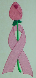 FSL Pink Ribbon & Rose Bookmark Set
