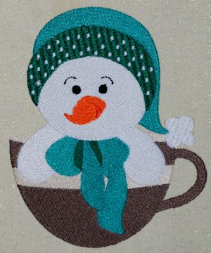 Snowman Mug Set