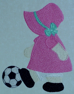 Sporty Sunbonnet Sue Exclusive (filled)