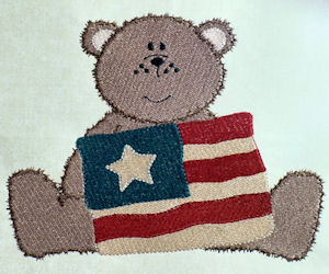 Americana Teddy Bear