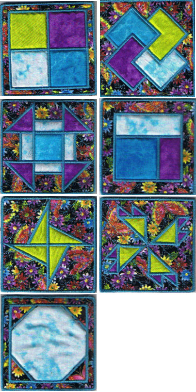 Applique Quilt Squares