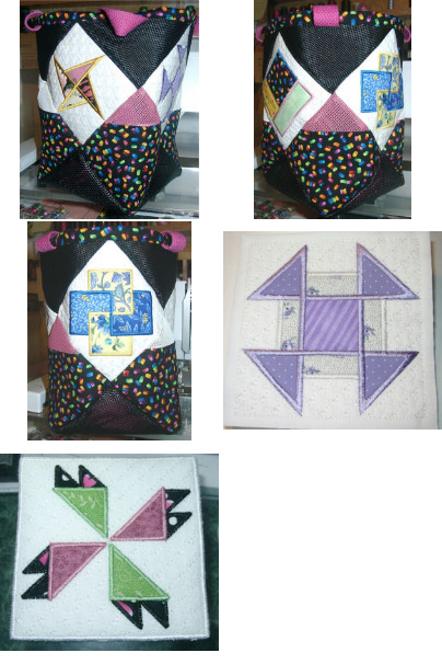 Applique Quilt Square Tote