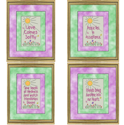 Friends-Love-Peace Sampler Set