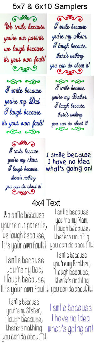 I Smile Sampler Set 01